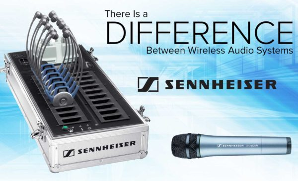 Sennheiser tour guide system from Tour Guide Solutions