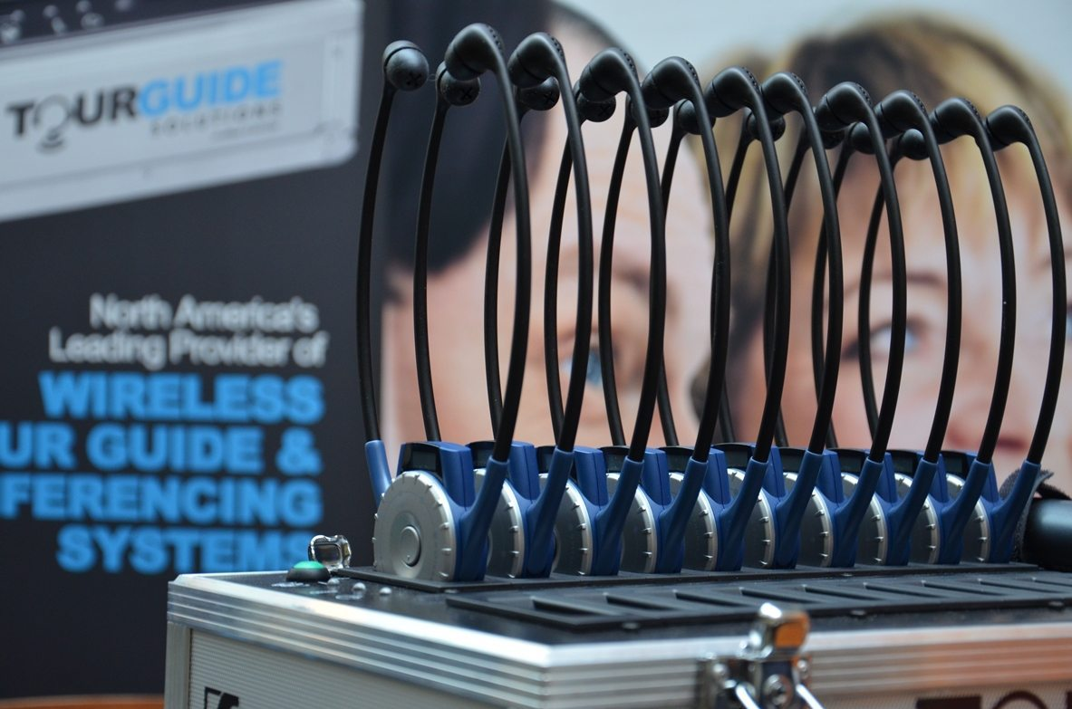 Tour audio systems rental - TourGuide Solutions