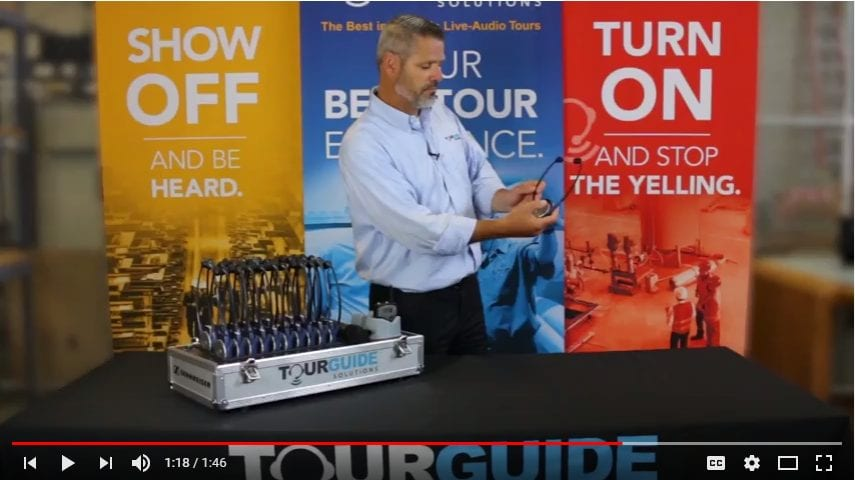 Tour Guide Solutions tour headsets